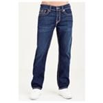 True Religion Mens Ricky Straight Leg Jeans