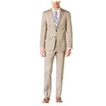 Calvin Klein Mens Tan Two Button Formal Suit
