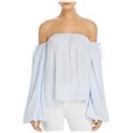 MLM Label Womens Dallas Stripe Knit Blouse