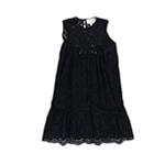 Mare Mare Womens Embroidered Tunic Dress