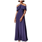Mare Mare Womens Cold-Shoulder Gown Dress