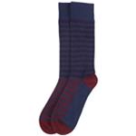Alfani Mens Striped Midweight Socks