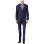 Perry Ellis Mens Portfolio Two Button Formal Suit