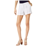 Michael Kors Womens Striped Casual Walking Shorts