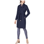 Michael Kors Womens Belted Trench Coat