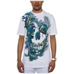 Sean John Mens Nature Skull Graphic T-Shirt