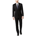 Calvin Klein Mens Solid Two Button Formal Suit