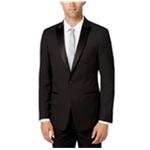 Calvin Klein Mens Houndstooth One Button Blazer Jacket