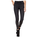 Tinseltown Womens Studded Stretch Jeans