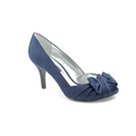 Nina Womens Forbes Satin Heel Pumps