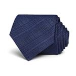 John Varvatos Mens Crosshatch Self-tied Necktie