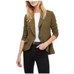 Free People Womens Linen Blazer Jacket