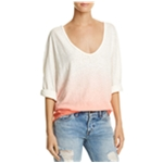 Free People Womens Ombre Tunic Blouse