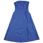 Free People Womens Cotton Strapless A-line Dress