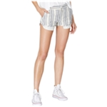 Free People Womens Striped Casual Walking Shorts