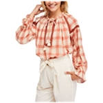Free People Womens Honey Grove Knit Blouse