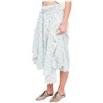 Free People Womens Luna Midi Skirt