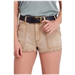 Free People Womens Get Far Out Casual Mini Shorts