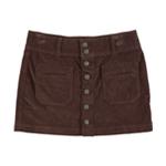 Free People Womens Solid Mini Skirt