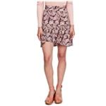 Free People Womens Asymmetrical Wrap Skirt