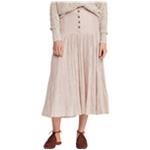Free People Womens Ocean Eyes A-line Skirt