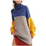 Free People Womens Softly Structured Knit Sweater