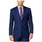 Shaquille O'neal Mens Textured Two Button Blazer Jacket