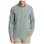 Oobe Brand Mens Gingham Button Up Shirt