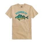Univibe Mens Keepin' It Reel Graphic T-Shirt