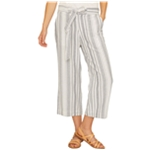 Sanctuary Clothing Womens Sasha Stripe Casual Cropped Pants