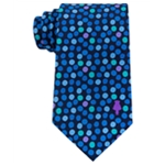 Dreamworks Mens Multicolor Dotted Necktie