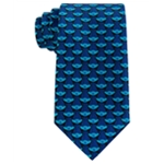 Dreamworks Mens All Over Branch Necktie