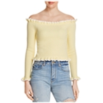 Parker Lifestyle Womens Off the Shoulder Knit Sweater