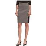 DKNY Womens Colorblocked Pencil Skirt