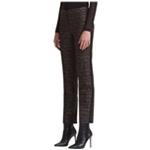 DKNY Womens Combo Fab Casual Trouser Pants