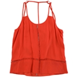 CAMI NYC Womens Edith Eyelet Accent Tank Top