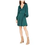 Michael Kors Womens V-neck Fit & Flare Dress