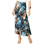 NY Collection Womens Printed A-line Skirt
