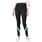 Project 28 Womens Striped Casual Leggings