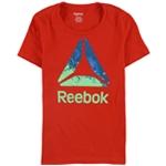 Reebok Womens Delta Logo Graphic T-Shirt