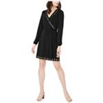 Michael Kors Womens Grommet Detail A-line Dress