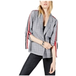 Project 28 Womens Striped Sleeve Blazer Jacket