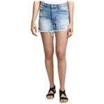 Sanctuary Clothing Womens Ripped Reagan Casual Denim Shorts