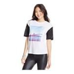 2KUHL Womens Burnout Brooklyn Graphic T-Shirt