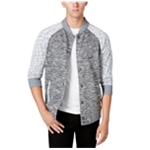 Ring Of Fire Mens Heathered Bomber Jacket