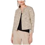 Eileen Fisher Womens Textured Blazer Jacket