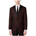 Ryan Seacrest Distinction Mens Brocade Two Button Blazer Jacket