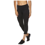 Reebok Womens Highrise Capri Compression Athletic Pants
