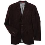 Alfani Mens Velvet Two Button Blazer Jacket