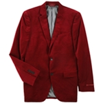 Alfani Mens Velvet Two Button Blazer Jacket